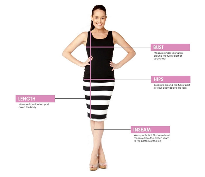 Soon Maternity Measuring Guide
