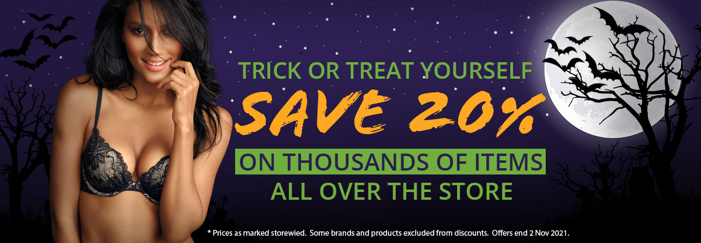 Trick or Treat Yourself Sale On Now