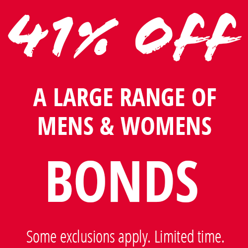 41% Off Selected Bonds