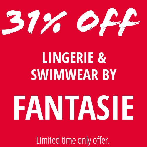 31% Off Fantasie Lingerie & Swimwear