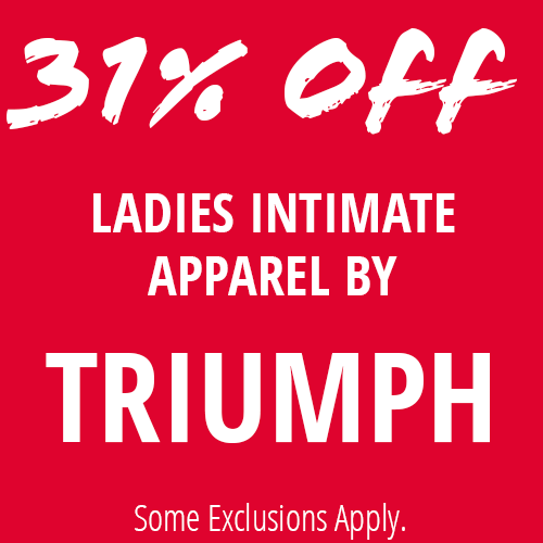 31% Off Selected Triumph
