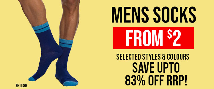 Mens Socks from $2