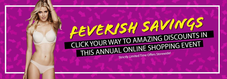 Feverish Savings Sale