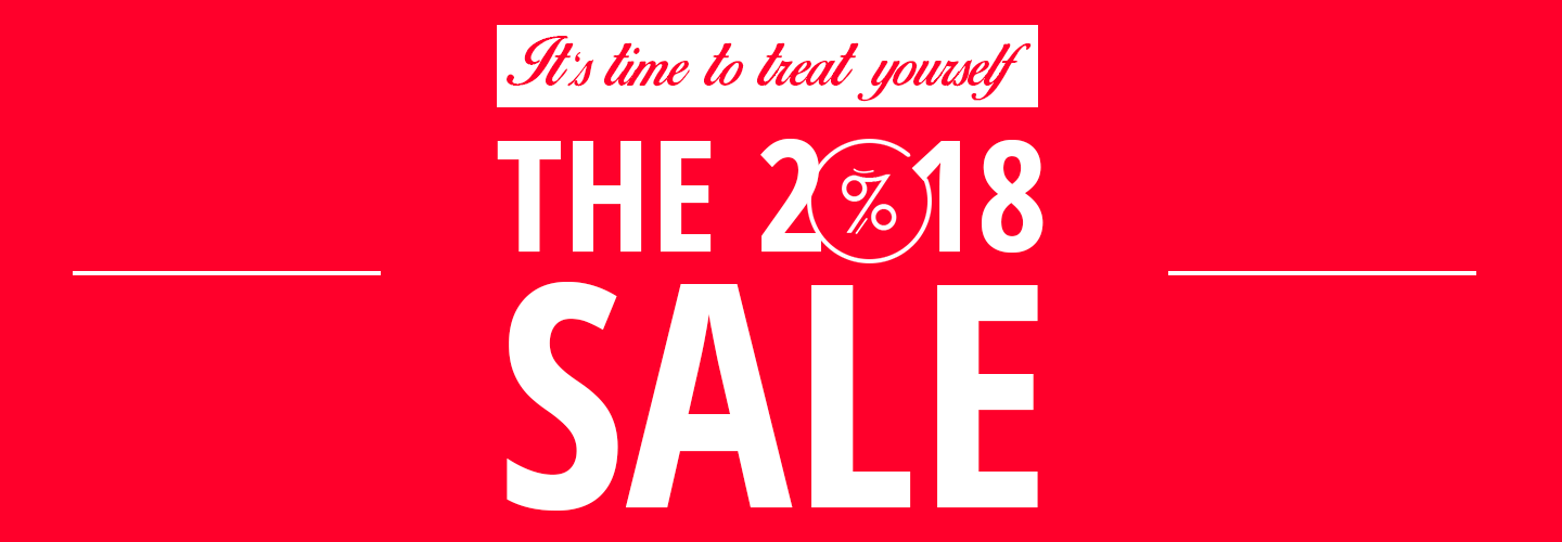 The 2018 Sale On Now