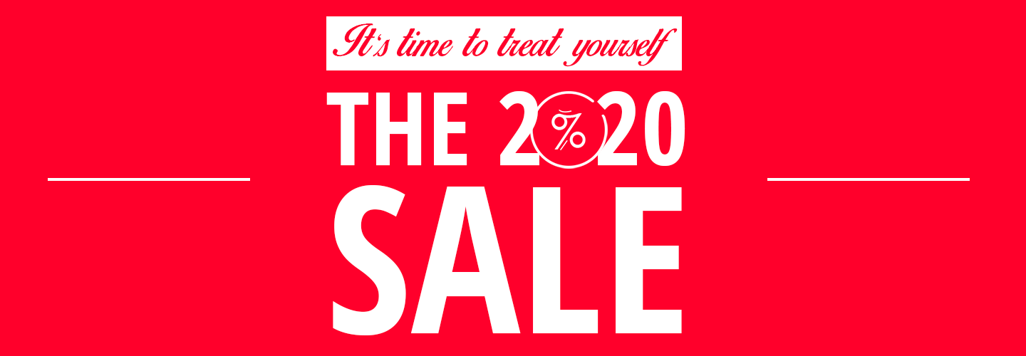 The 2020 Sale On Now