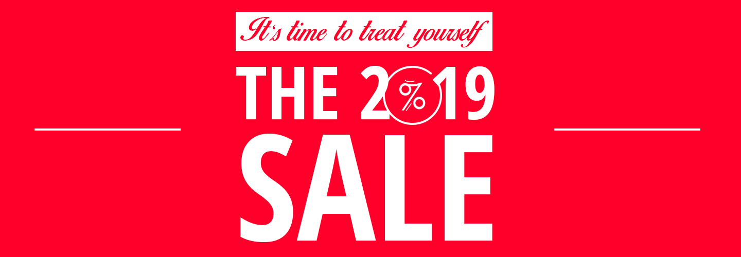 The 2019 Sale On Now