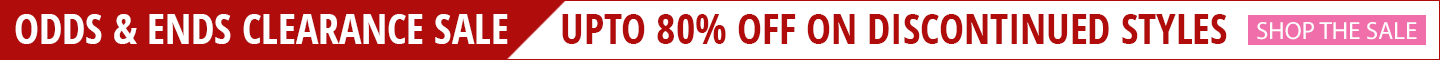Upto 80% Off Odds & Ends Clearance