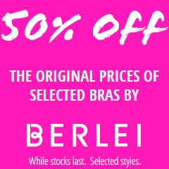 Upto 50% Off Berlei Bras