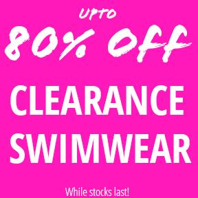 Upto 80% Off Clearance Swimwear