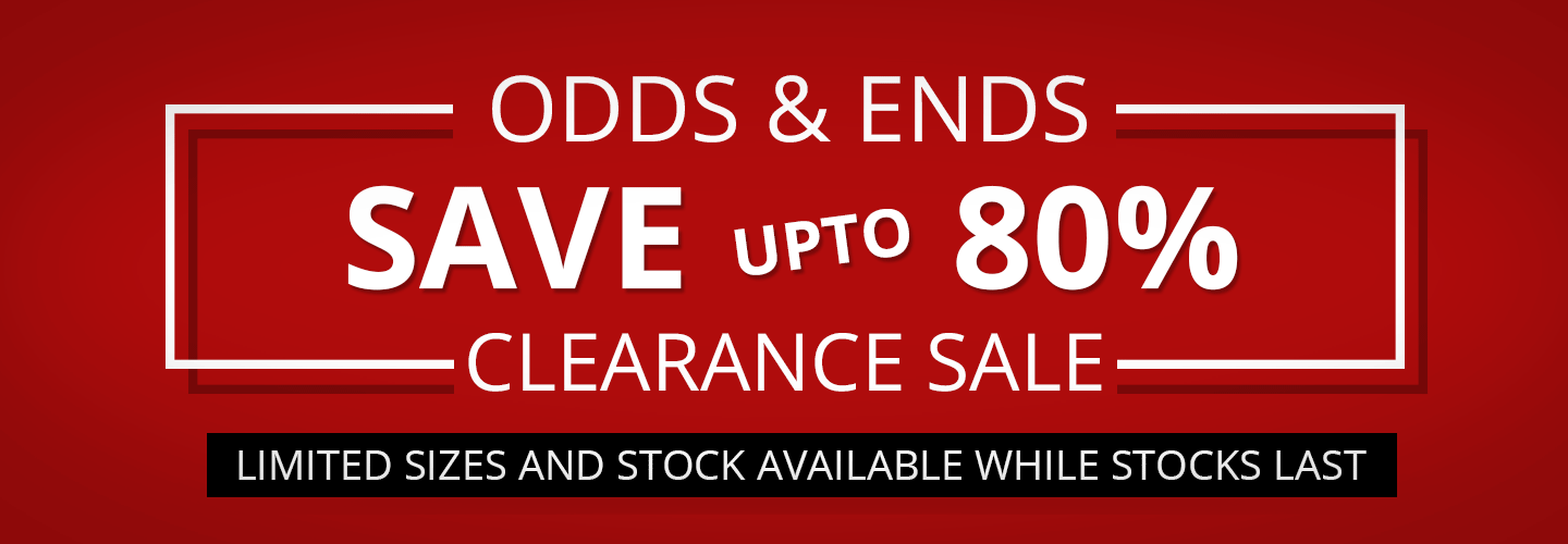 Odds & Ends Clearance Sale On Now