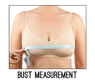 Measuring Your Bust Size